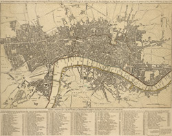 The LONDON DIRECTORY, or a New & Improved PLAN of LONDON, WESTMINSTER, & SOUTHWARK; 152